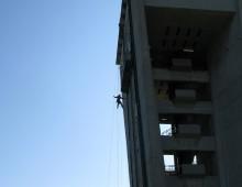 Installazione di cavi LAN presso Acquedotto ACEA di Roma Belsito (2011)